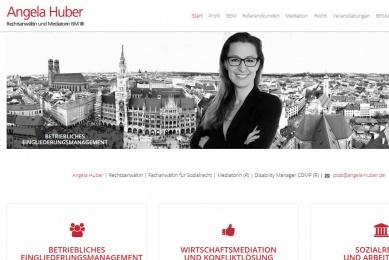 Gestaltung der Webseite und Implementierung vn Newsletter-Marketing.